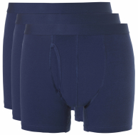 Ten Cate 3-pack: Boxers met gulp - Navy