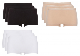Ten Cate Dames 9-Pack:  Basic shorts