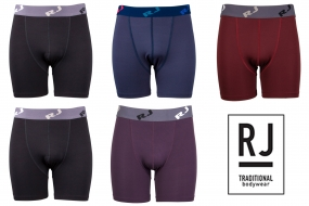 RJ Bodywear Boxer 5-pack: Dark Colors