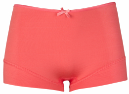 RJ Pure Color Dames Short - Koraal