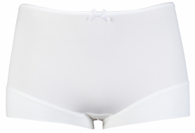 RJ Pure Color Dames Short - Wit