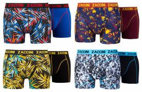 Zaccini 8-pack: Painted Leaves