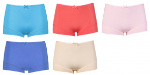 RJ Bodywear 5-pack: Bright